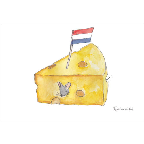 Hollandse kaarten fantasiebeestjes - kaas